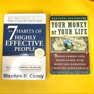 Other - BOOKS! Your Money or Your Life and 7 Habits